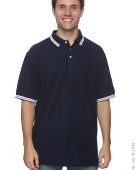 Chestnut Hill CH113 Men's Tipped Performance Polo