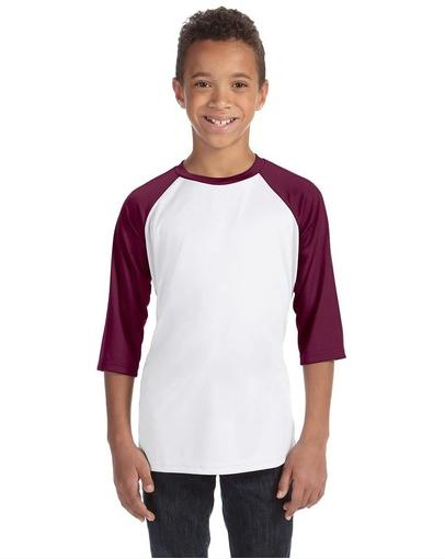 Alo Sport Y3229 Youth Baseball T-Shirt