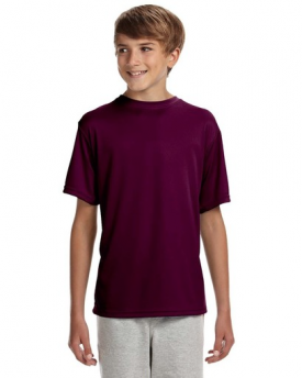 A4 Youth NB3142 Short-Sleeve Cooling Performance Shirt