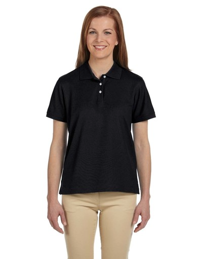 Devon & Jones D112W Ladies' Pima Piqué Short-Sleeve Polo