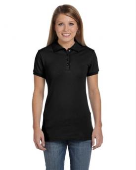 Bella B750 Ladies' Cotton Spandex Short-Sleeve Polo