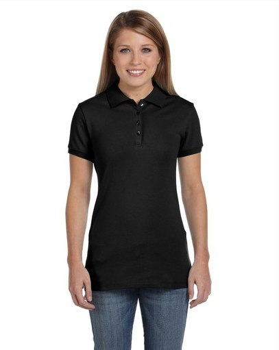 Bella B750 Ladies' Cotton Spandex Short-Sleeve Polo