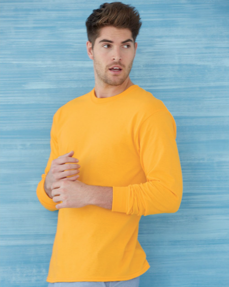 Gildan G540 Heavy Cotton™ 5.3 oz. Long-Sleeve T-Shirt